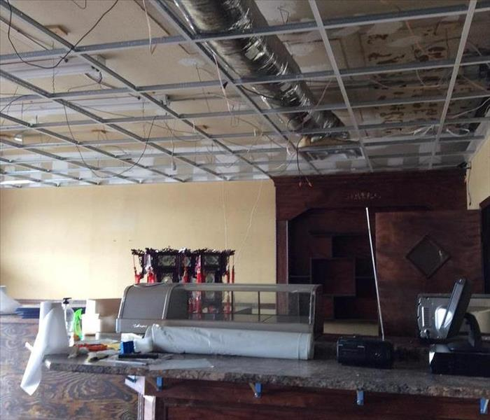 Local Resturant Damage Before