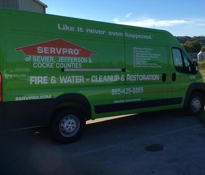 SERVPRO of Sevier, Jefferson & Cocke Co has expanded our fleet!